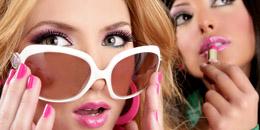 мастер класс макияжа, маникюра с фото в женском журнале