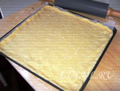 творожный пирог с лимоном рецепт с фото