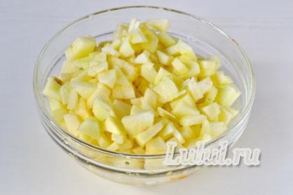 простой яблочный штрудель рецепт с фото