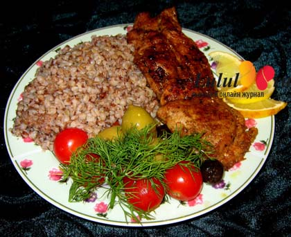 рецепт бедро индейки в духовке с овощами рецепт
