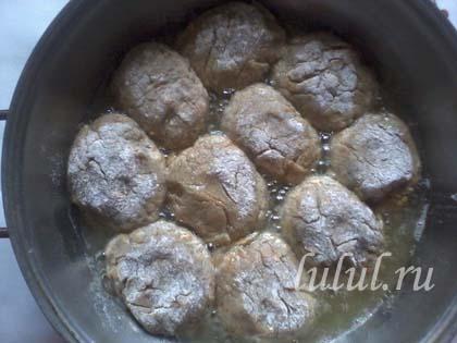 Куриные котлеты с грибами фото
