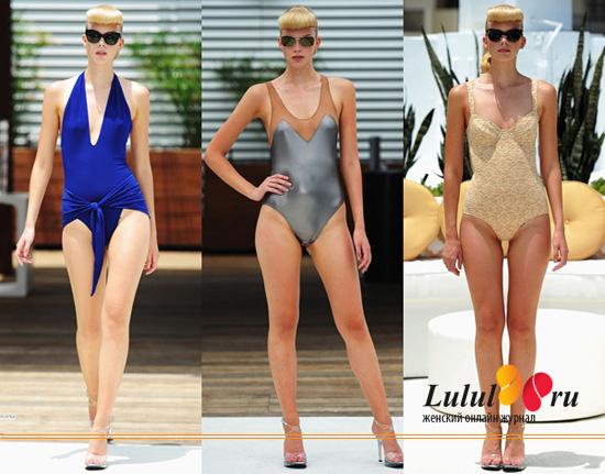 модные купальники 2012 мода