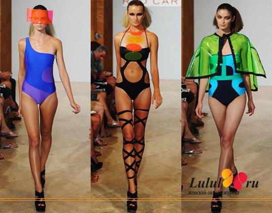 модные купальники 2012 года