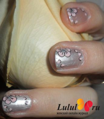 Палитра матовых лаков для ногтей