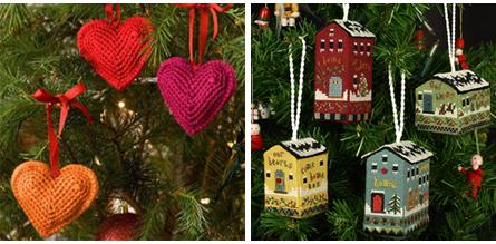 Новогодние украшения для елочки своими руками фото