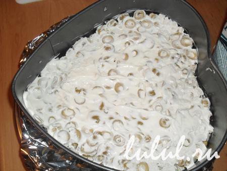 Салат в виде сердца рецепт с фото пошагово - 1000.menu