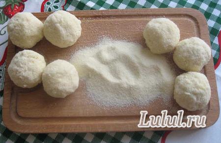 творожные шарики рецепт с фото