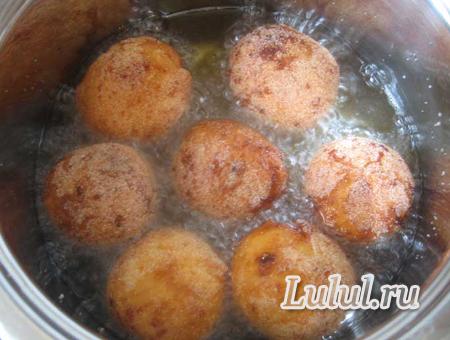 творожные шарики жареные в масле