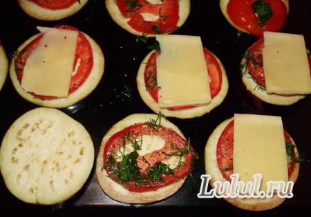 закуска из баклажанов с сыром