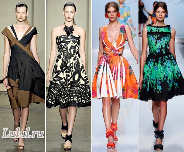 Летняя мода 2012 года для женщин модные