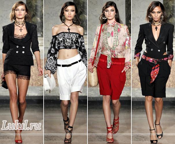 летняя мода 2012 года для женщин фото