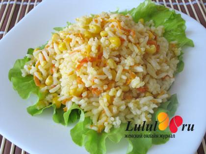 Как приготовить вкусный гарнир из риса