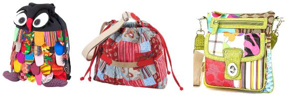 сумки в стиле пэчворк