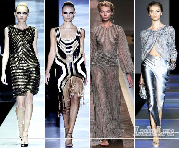 мода одежда весна лето 2012