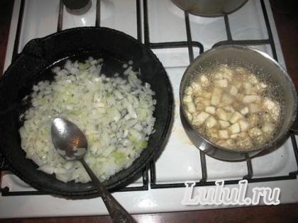 пшеничная каша с грибами рецепт с фото