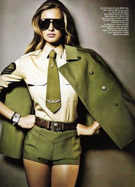 стиль милитари женский фото