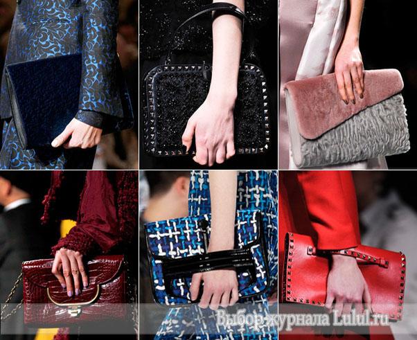 модные аксессуары осень зима 2012