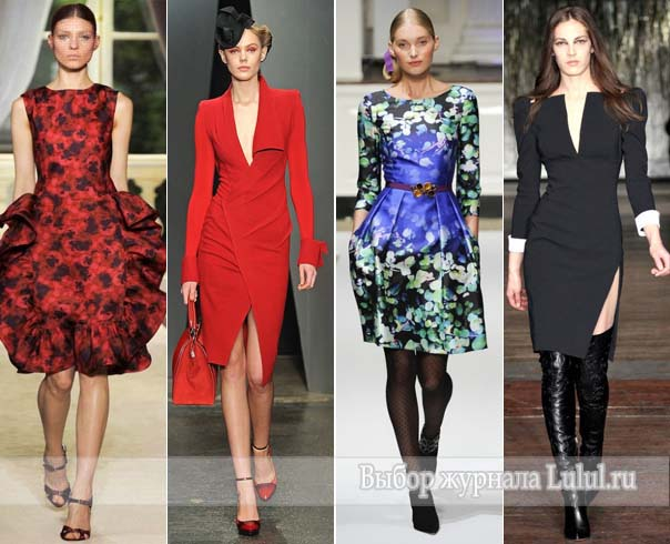 модные платья 2013 года