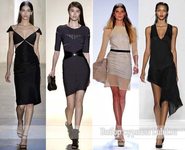 Платья 2013 года из коллекций весна лето