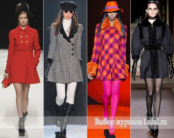 модные женские пальто осень-зима 2012 2013 фото