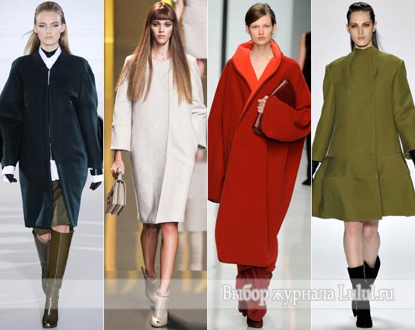 модное пальто для женщин осень зима 2012-2013