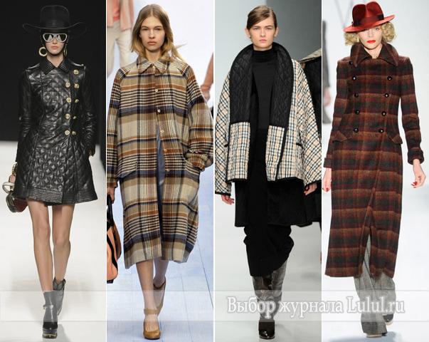 модные женские пальто осень  зима 2012 2013