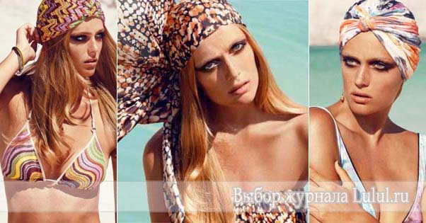 купальники новая коллекция Hannе Bloch весна лето 2013