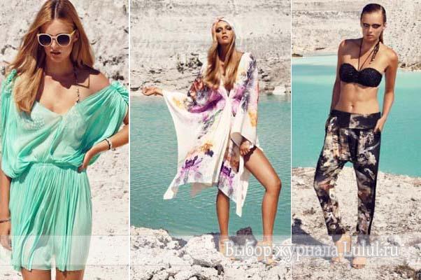 купальники пляжная одежда новая коллекция Hannе Bloch весна лето 2013