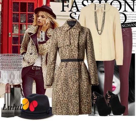 Леопардовое платье своими руками - Все