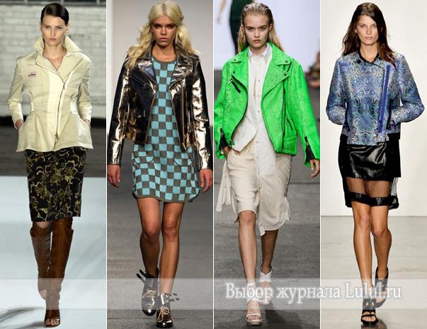 модные куртки женские весна 2013 года. мода весна лето 2013