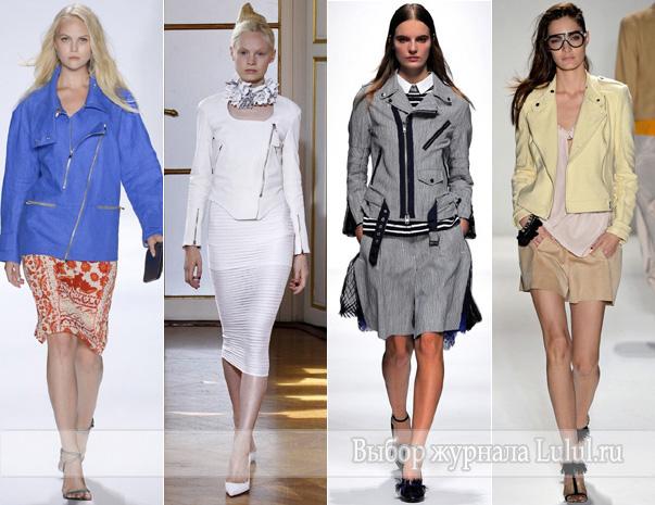 модные куртки женские весна 2013 года