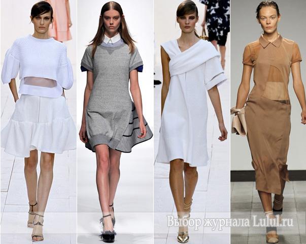 модные тенденции весна-лето 2013 года