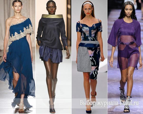 что модно весной и летом 2013 года