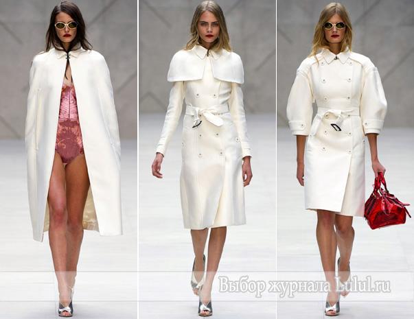 весеннее модное пальто мода весна лето 2013 года