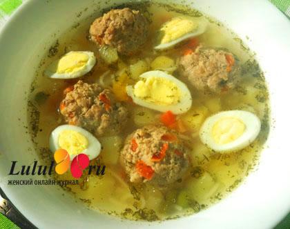 суп с яйцами и лапшой рецепт с фото пошагово