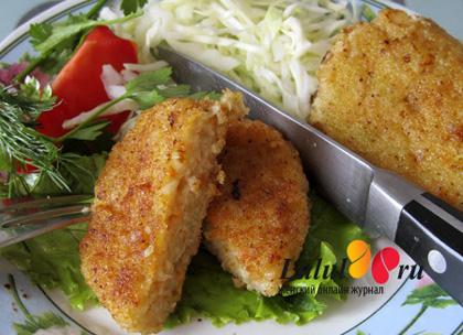 рыбные котлеты из морского окуня рецепт с фото