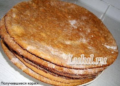 Как приготовить вкусный торт Медовик со сметанным кремом рецепт с фото