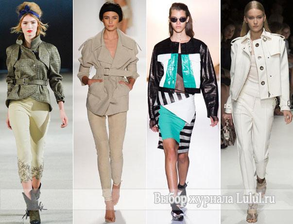 Модная Женская Одежда Весна 2014