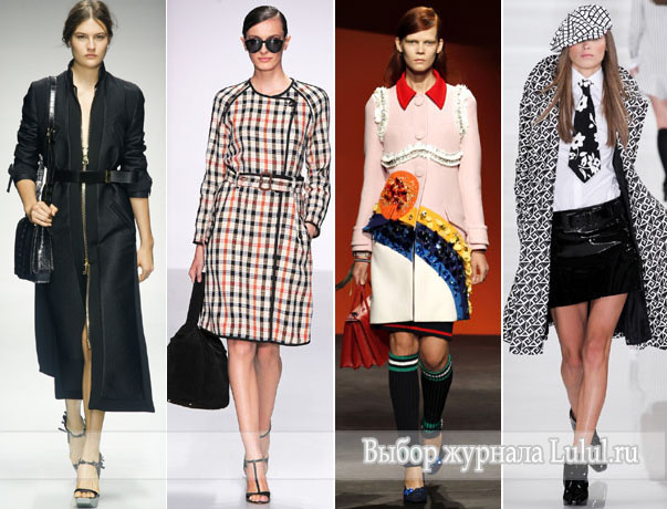 модное пальто женское весна 2014 года