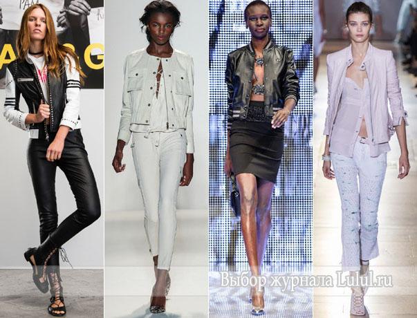 модная верхняя женская одежда весна 2014 года