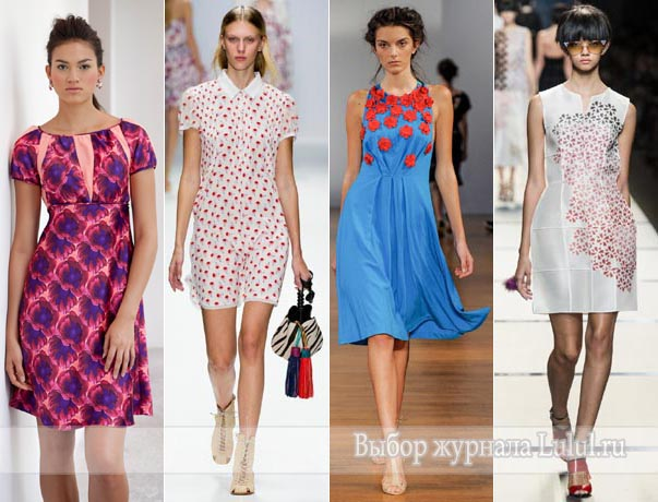 Модные платья весна – лето 2014 фото коллекций и тенденции новые фото