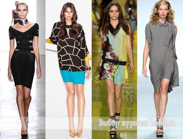 весенние и летнии платья 2014 года