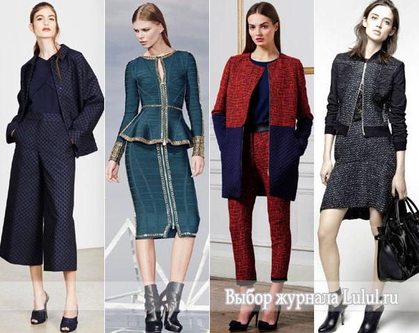осенняя мода 2014 фото