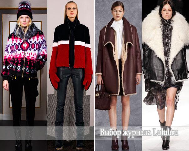 зимняя мода 2014 2015 года
