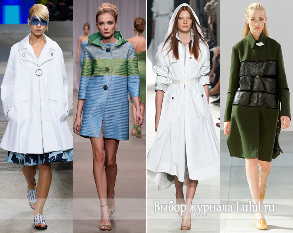 верхняя одежда весна 2015
