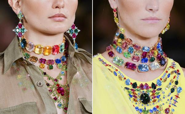 Роскошные украшения от Ralph Lauren из коллекции весна-лето 2015 года