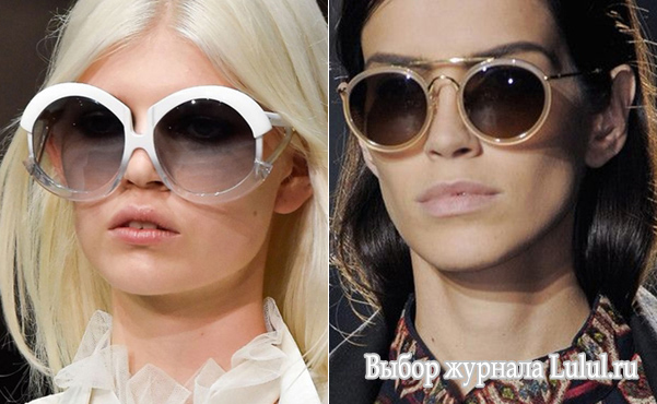 женские модные очки от солнца 2015