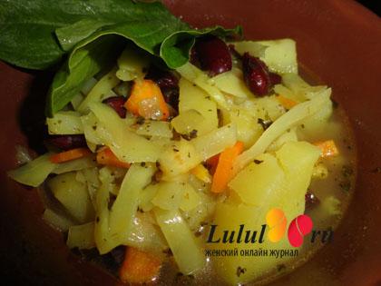 Вторые блюда с щавелем рецепт