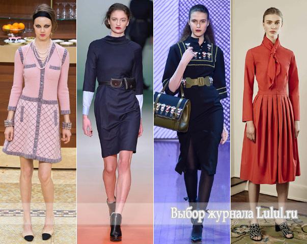 офисные платья 2015 2016 фото