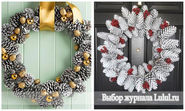 идеи рождественских венков фото
